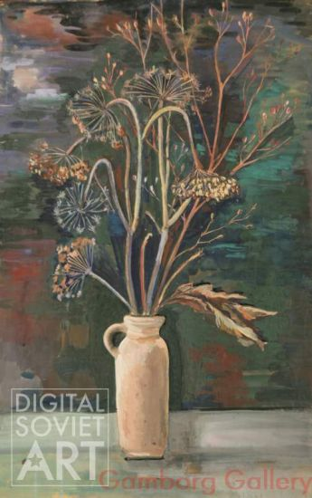 Dried Wild Flowers in Jug – Без названия