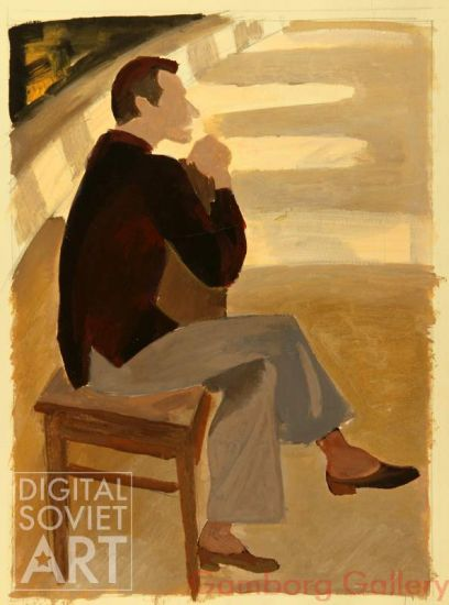 Portrait of Choreographer of the Bolshoi Theater Yury Grigorovich – Эскиз Григоровича