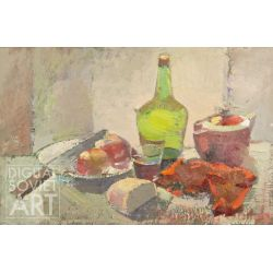 Still-life with Bread and Bottle – Без названия