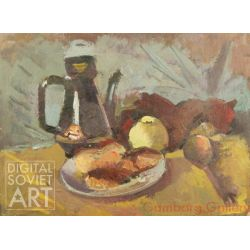 Still-life With Pitcher And Apple – Без названия