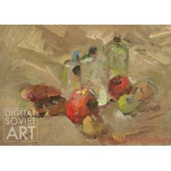 Still-Life with Bottles and Apples – Без названия
