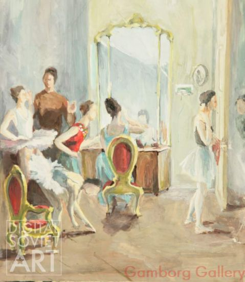 Ballerinas in the Dressing Room – Без названия