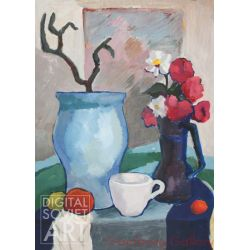 Still-life with Vase and Pitcher – Без названия