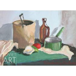 Still-life with Jar and Pot – Без названия