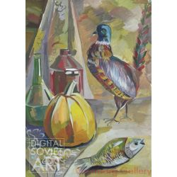 Still-life with Bird and Fish – Без названия