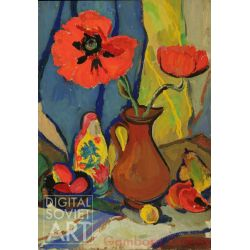 Still-Life with Poppies and Pitcher – Без названия