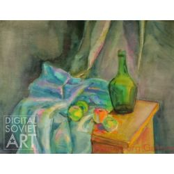 Still-Life with Bottle and Apples – Без названия