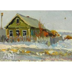 Cottage in Winter – Домик