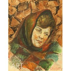 Portrait of Young Village Woman – Без названия