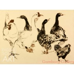 Geese and Hens – Гуси и куры