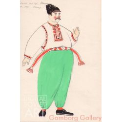 Costume Design for Circus for the Artist Ivanchenko – Без названия