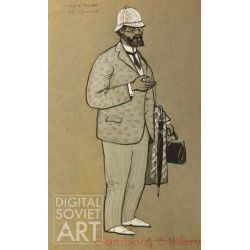 "Doctor Budakov. Artist Kulakov. Costume Design for ""Summer Life"" by Gorky – Доктор Будаков. Артист Кулаков"