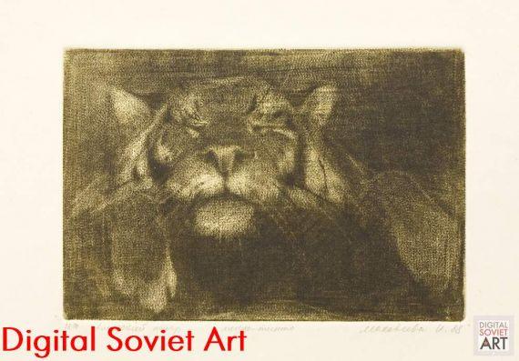 Siberian tiger (Amurian tiger) Panthera tigris altaica – Тигр амурский