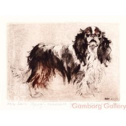 King Charles Spaniel - English Toy Spaniel – Кинг-Чарльз-спаниель
