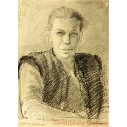 Portrait of Artist Galina Gladysheva – Портрет художницы Галины Гладышева