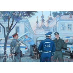 Traffic Police of the the Town of Velikii Ustyug – ГАИ МВД г. Великого Устюга