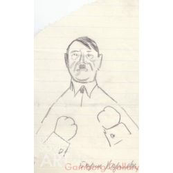 Hitler – Гитлер. Карикатура