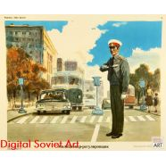 Traffic Safety Posters in the Soviet Union /