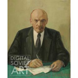 Lenin By His Desk – Без названия