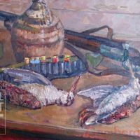 Hunting and Fishing in Soviet Painting and Graphics / Охота и рыбалка - живопись и графика CCCP