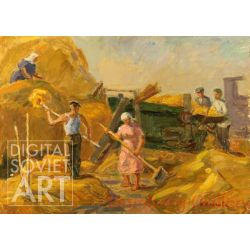 On the Threshing-Floor – На току