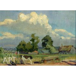 Landscape with Cow and Hen – Без названия
